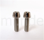 mr-ride Ti Titanium Bolts M5x10mm 12pc Screws Disc Rotor Brake For Shimano SRAM